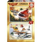 Puzzle Planes 2 (2x20 piezas)
