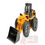 BULLDOZER  HUINA 1520 2.4GHZ ESCALA 1:18