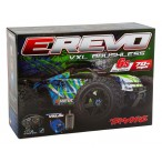 Traxxas E-Revo Brushless 2.0 Green TSM 2018 con TQ Wireless sin baterías