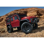 Traxxas TRX-4 Land Rover Defender Crawler TQi XL-5 (no battery/charger), Red