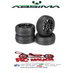 """Juego de ruedas Onroad """"6 Spoke / Profile"""" negro 1:10 (4 piezas)"""