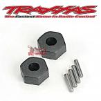 Bujes de rueda, hexagonales (2) / pasadores de eje corto (2)