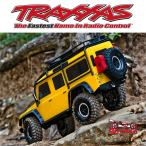 Traxxas TRX-4 Land Rover Defender Crawler TQi XL-5, Yellow Special Edition
