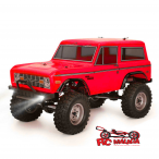 COCHE CRAWLER ROCK CRUISER RC4 1/10 RGT136100-R 4X4 WATERPROOF ROJO RTR