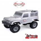 COCHE CRAWLER ROCK CRUISER RC4 1/10 RGT136100-MG 4X4 WATERPROOF GRIS METALIZADO RTR