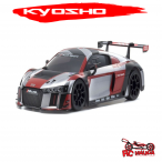 "MINI-Z RWD Ready Set Audi R8 LMS 2016 ""Gris / Rojo"""
